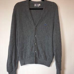 Vintage Izod Lacoste Sweater Caridgan